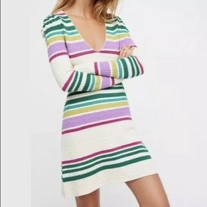 ⚡️SOLD⚡️NWT Free People Gidget Knit Sweater Dress